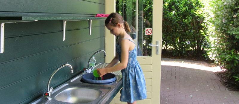 Sanitair camping Hendriks wijkje