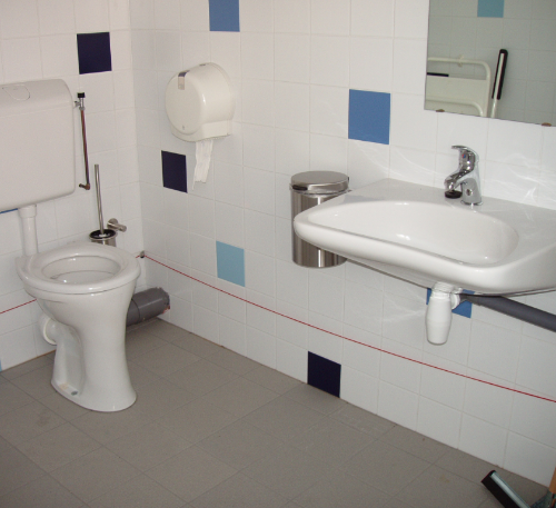 sanitair voor mindervalide
