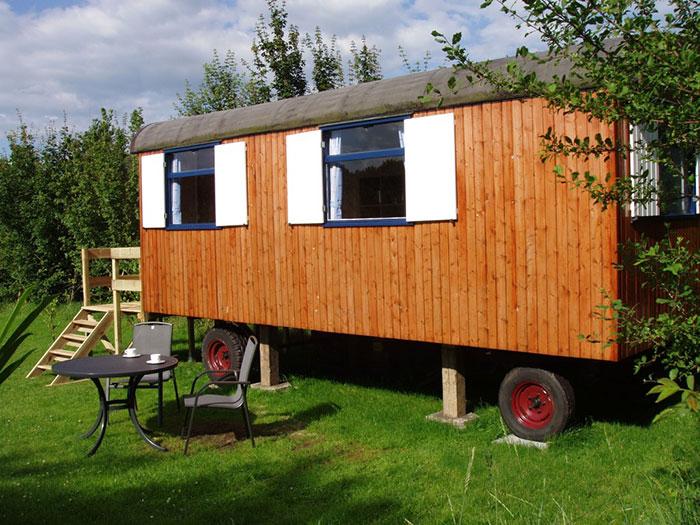Pipowagen camping Hendriks Wijkje