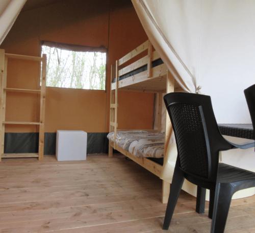 kinderslaapkamer safaritent