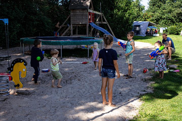 Grote zandbak Hoogeveen